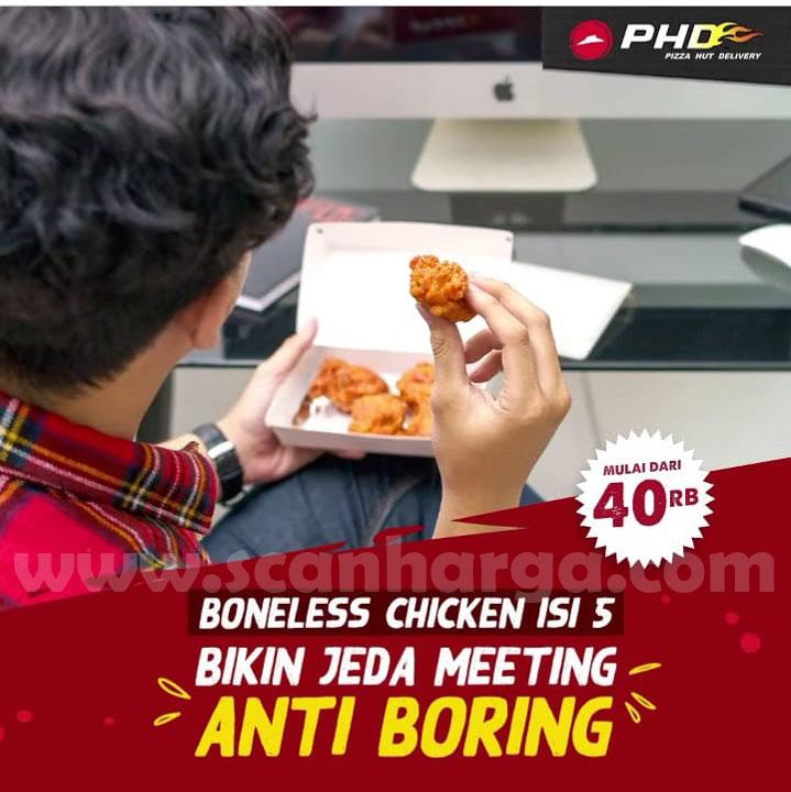 PHD Harga Spesial Boneless Chicken Isi 5 mulai Rp 40rb