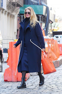 Doutzen Kroes Out At New York Fashion Week 2018
