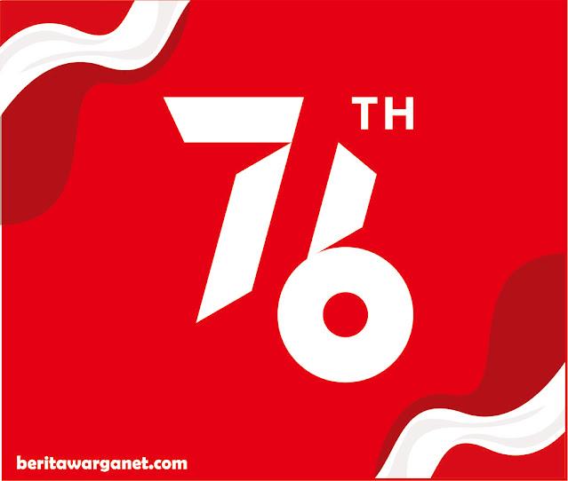 Logo hut ri ke 76