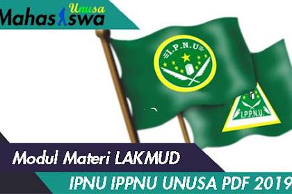 Modul Materi Lakmud IPNU IPPNU 2019