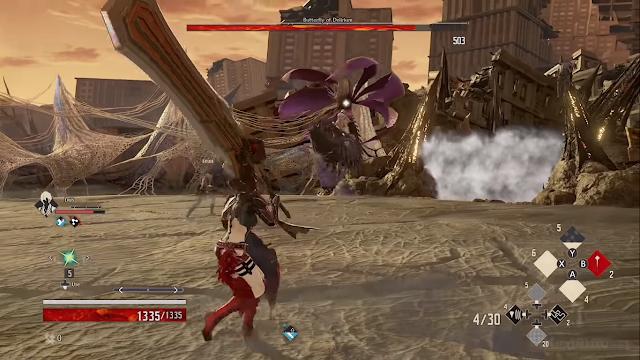 Screenshot Gameplay Code Vein