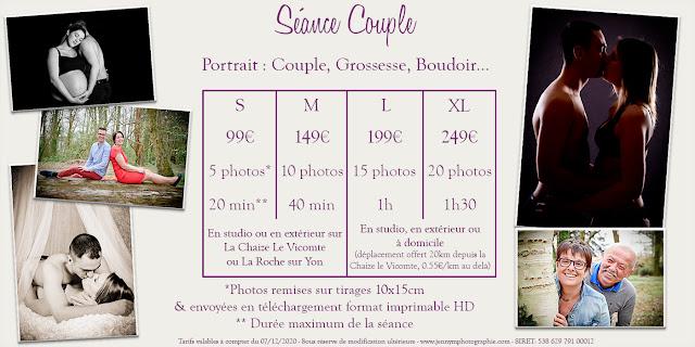 séance photos portrait couple love session photographe vendée 85