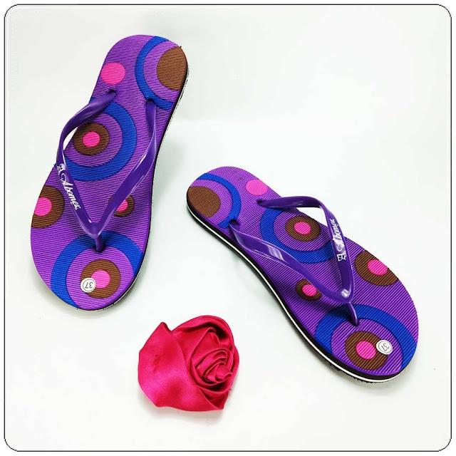 Sandal Cantik AB Cewe Simplek Wanita