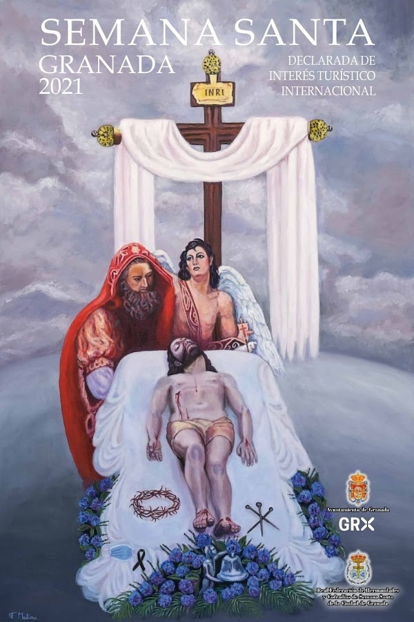 Cartel de la Semana Santa de Granada de 2021