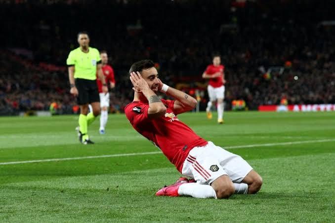Manchester United Bruno Fernandes revealed story behind unique goal celebration.
