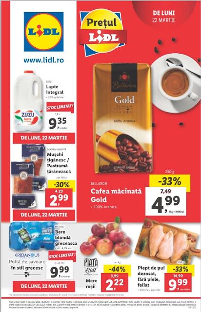 LIDL catalog brosura   22-28.03 2021