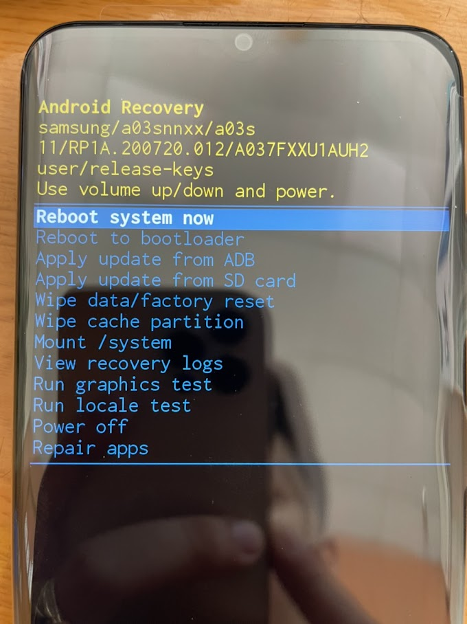 Rom Scatter Samsung A03s | Firmware Scatter Samsung A037F.