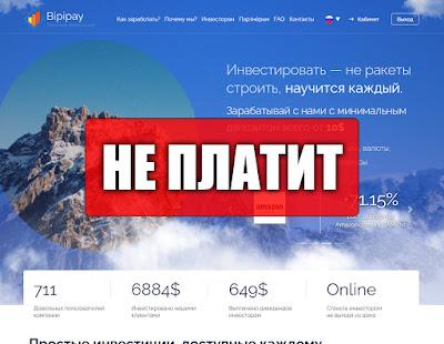 Скриншоты выплат с хайпа bipipay.ltd
