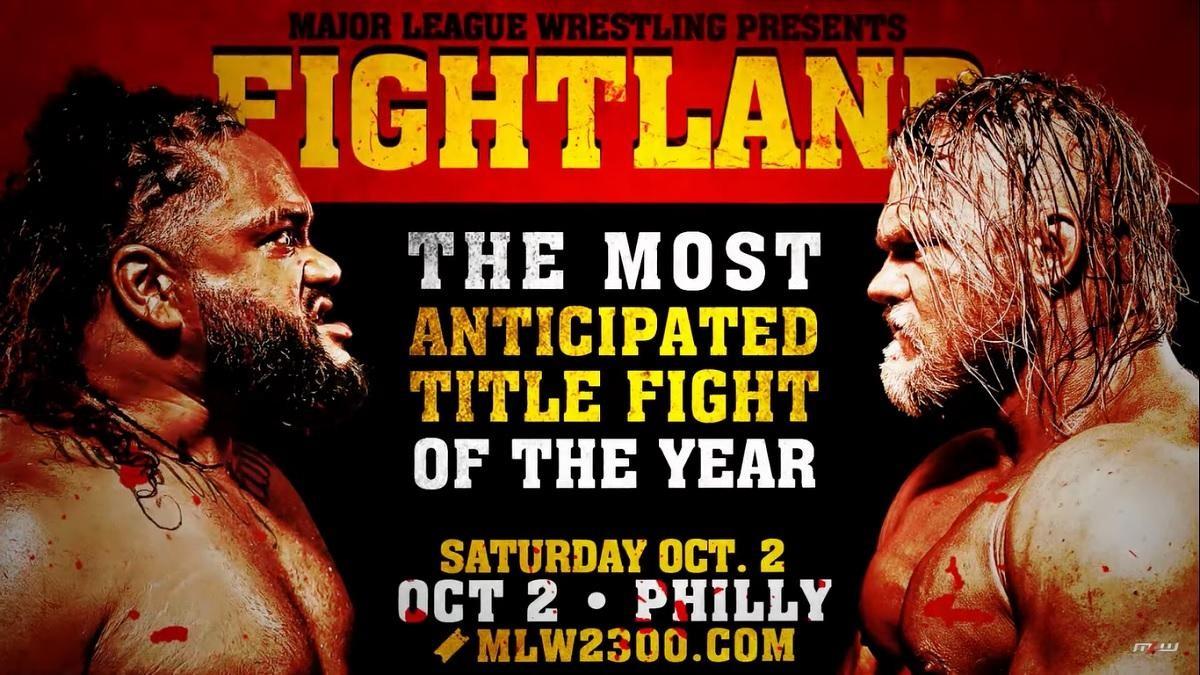 Alex Hammerstone vs. Jacob Fatu acontecerá no MLW Fightland