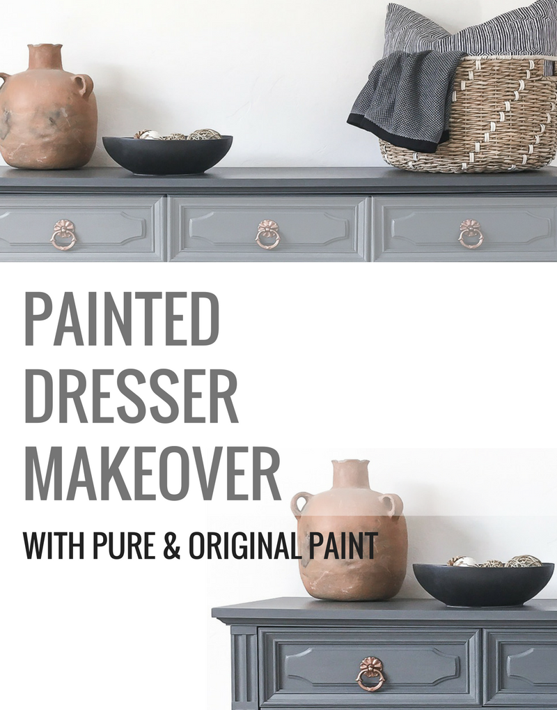 How To Paint Wood Furniture With Pure Original Paint Thirty