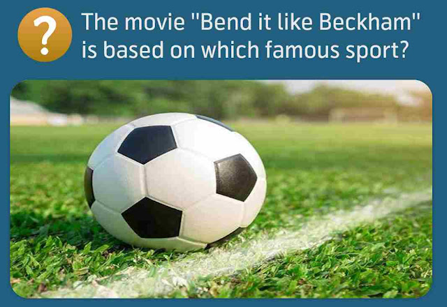 The movie ''Bend it like Beckham'' is based on which famous sport?