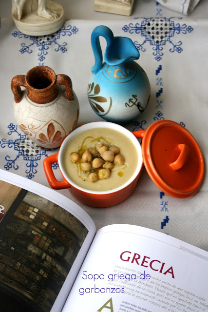 crema de garbanzos,sopa de garbanzos,Cookeo