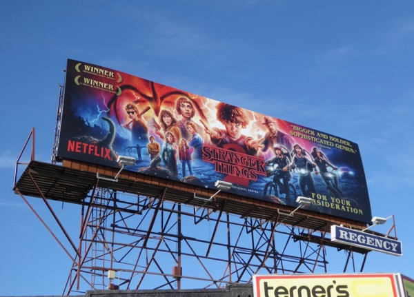 Stranger Things season 2 FYC billboard