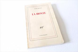Lundi Librairie : La honte - Annie Ernaux