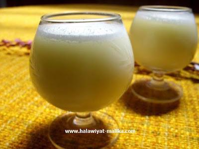 عصير الليمون بالياغورت والجبن