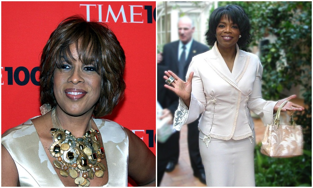 Winfrey's best friend since their early twenties is Gayle King