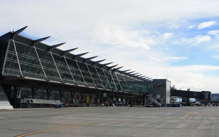 aeroporto El Calafate viagem