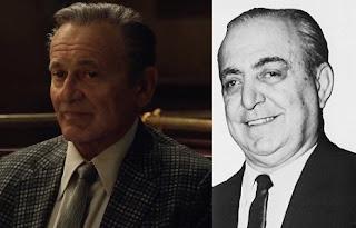 Joe Pesci y el auténtico Russell Bufalino