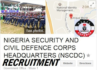 NSCDC OFFICIAL WEBSITE