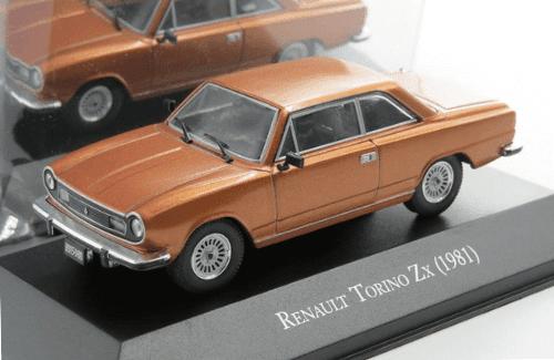 Renault Torino ZX Gamma 1981 1:43, autos inolvidables argentinos 80 90