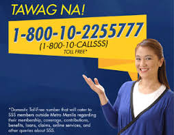 SSS Domestic and International Toll Free Hotline / Telephone Numbers