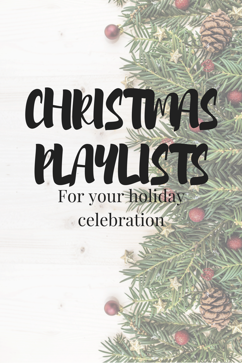 5 Christmas Playlists | Holiday Playlists | Christmas Music