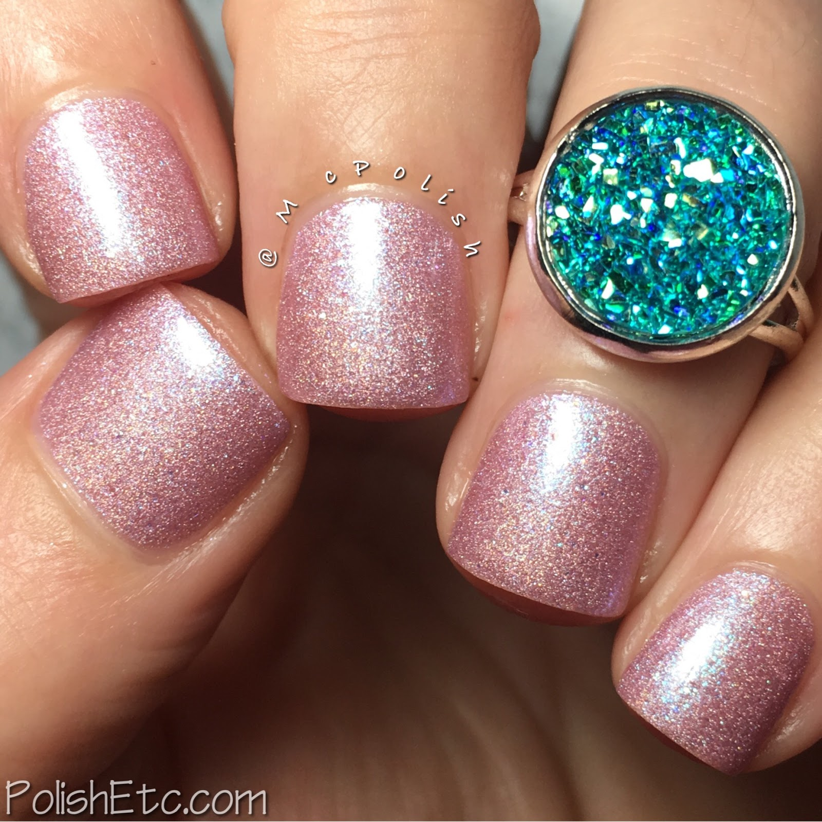 Ellagee - Hella Holo Customs - McPolish - Heartstone