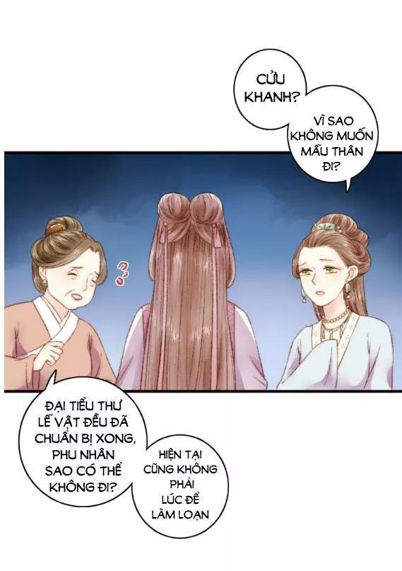 Nàng Phi Cửu Khanh - Thần Y Kiều Nữ chap 3 - Trang 31