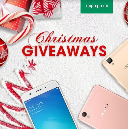 OPPO Christmas giveaways 2016