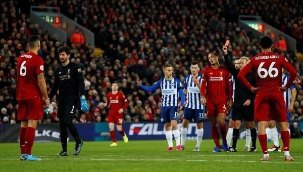 ليفربول ينجو من فخ التعادل امام برايتون ويحافظ على الصدارة