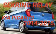 tempat sekring dan relay KIA PICANTO 2014-2015