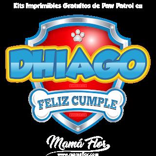 Logo de Paw Patrol: DHIAGO