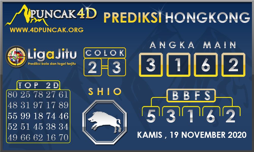 PREDIKSI TOGEL HONGKONG PUNCAK4D 19 NOVEMBER 2020