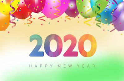 Happy New Year 2020, new year, happy, 2020