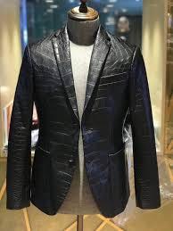 Model Jaket Kulit Buaya Terbaru 2020