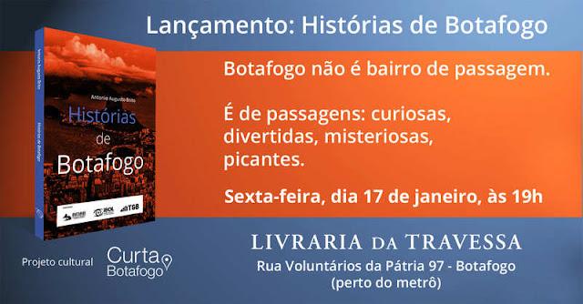 Livro do jornalista Antonio Augusto Brito é o primeiro projeto do site Curta Botafogo
