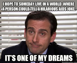AIDSjoke the office isms memes