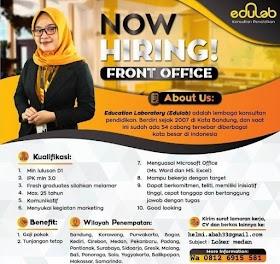 Lowongan Kerja Terbaru Edulab Yogyakarta Juli 2020
