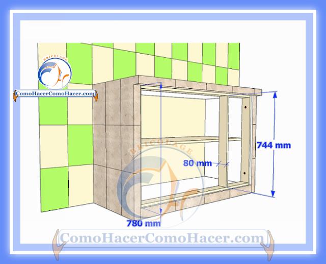 Cocina Mesada De Concreto Guia Detallada Para Colocar Puertas