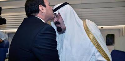 """""""السيسي"""" والملك """"عبدالله بن عبدالعزيز"""""""