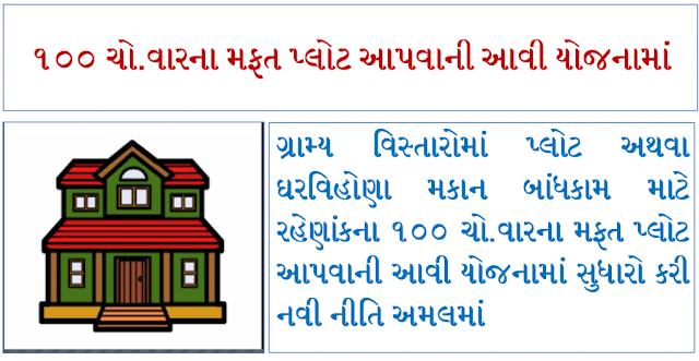 How to Apply 100 Choras Var Mafat Plot Yojna Tharav And Full Details