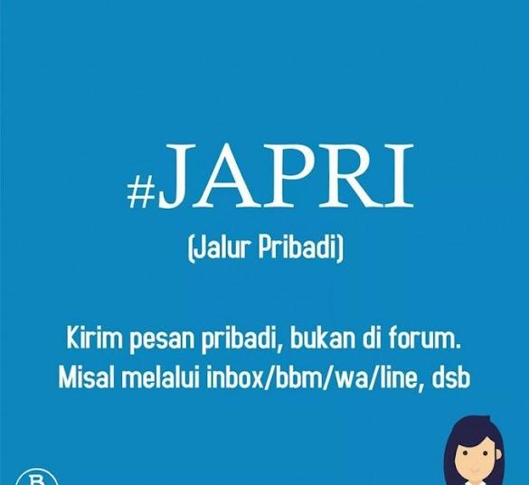 Apa Arti Kata Japri dan Unsur Penting Lainnya Dalam Media Sosial?