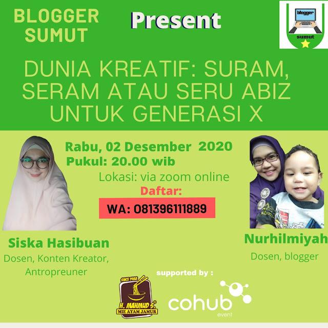 selamat ulang tahun kedua Blogger Sumut