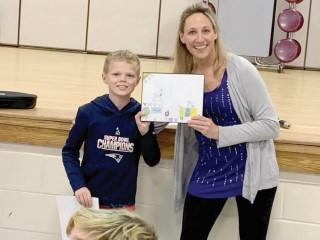 The Windham Eagle News: Third-grader wins calendar contest