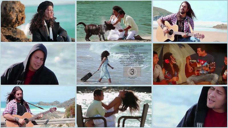 Buena Fe & Andrés Suárez - ¨Volar sin ti¨ - Videoclip - Director: Ian Padrón. Portal Del Vídeo Clip Cubano