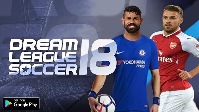 تنزيل لعبة dream league soccer 2018 للاندرويد