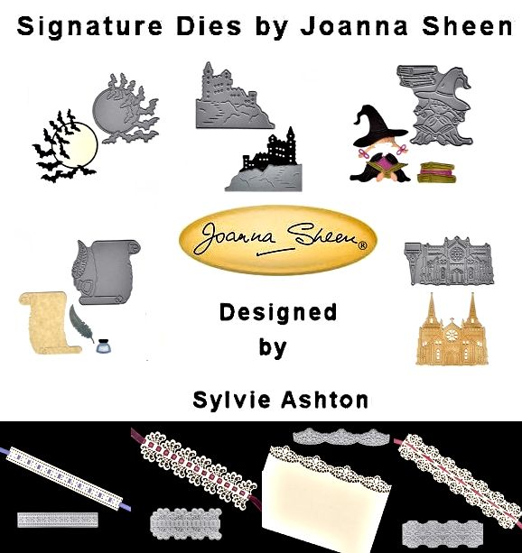 Signature Dies from Joanna Sheen