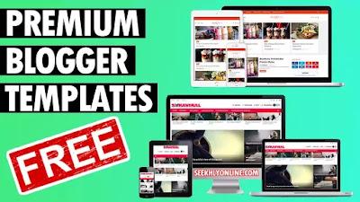 Premium Blogger Templates Free - seekhlyonline.com