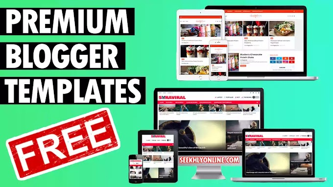 Premium Blogger Templates Free | Free Customizable Blogger Templates