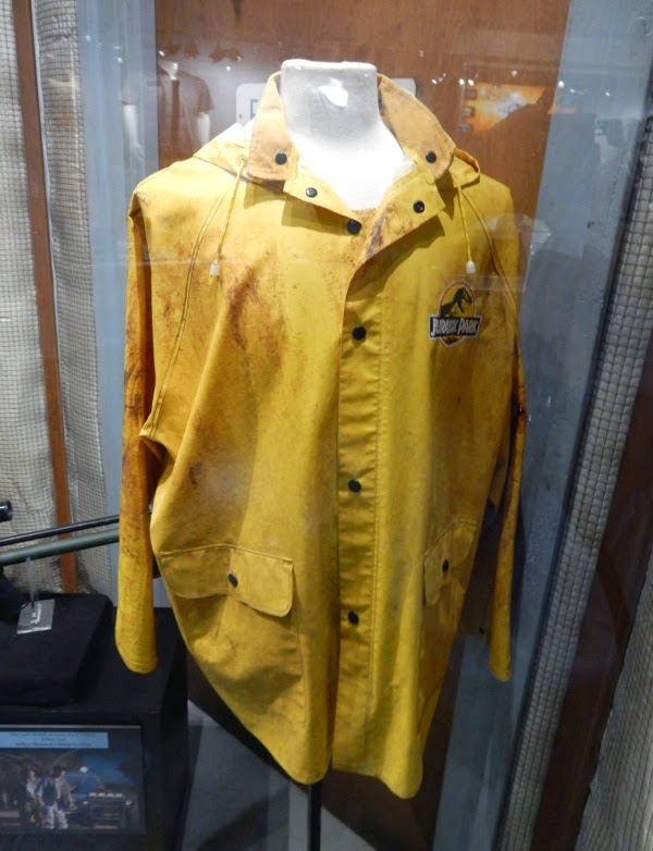 Yellow Jurassic Park 1993 raincoat